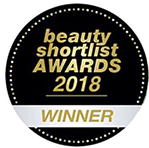 Beauty Shortlist Awards 2018 - Winner