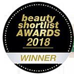 Beauty Shortlist Awards 2018 - Winner