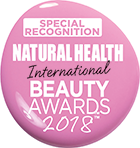 Natural Health International Beauty Awards 2018 - Special Recognition