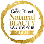 The Green Parent - Natural Beauty Awards 2018 - Gold
