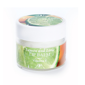 AA Skincare Lemon & Lime Lip Balm 15ml.