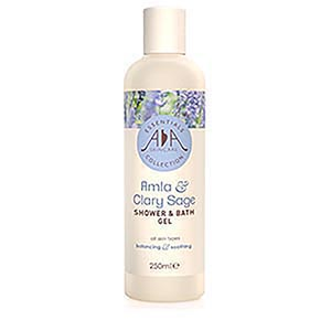Amla & Clary Sage Liquid Shower & Bath Gel 250ml - AA Skincare
