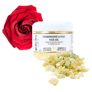 Frankincense & Rose Face Gel 100ml