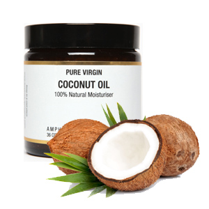 Virgin Coconut Oil Moisturiser 120ml.
