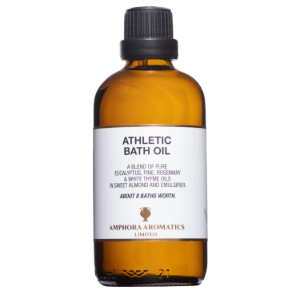 Athletic Bath Oil 100ml Glass