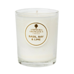 Basil & Bay Mini Pot Candle.