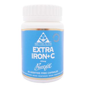 Extra Iron with Vitamin C x 60 Caps