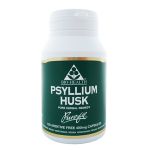 Psyllium Husk 400mg Powdered Husk x 120 Caps