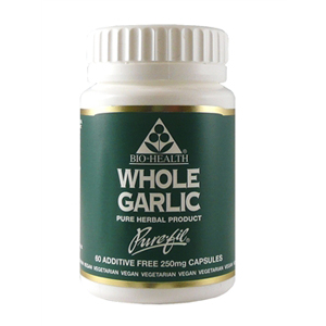 Garlic Whole Powdered Clove X 60 Caps