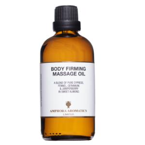 Body Firming Massage Oil 100ml - Glass