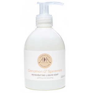 Cinnamon & Spearmint Invigorating Liquid Soap 250mls-AA Skincare Single
