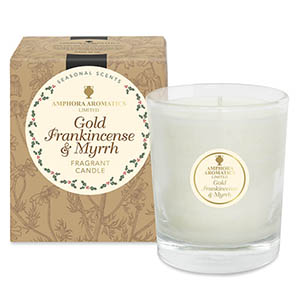 Gold, Frankincense & Myrrh - 40hr Pot Candle.