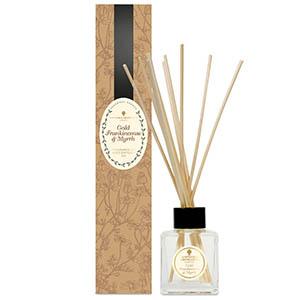 Reed Diffuser Kit 100ml - Gold, Frankincense & Myrrh