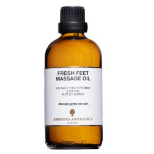 Fresh Feet Massage Oil 100ml Glass