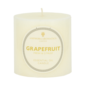 Grapefruit Essential Oil Candle 3x3  (Single)