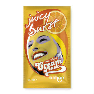 Juicy Burst  Nourishing Cream Face Mask single
