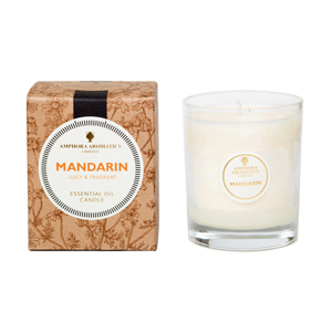 Mandarin 40hr Pot Candle.  Juicy & Fragrant.