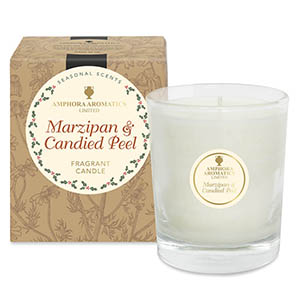 Marzipan & Candied Peel - 40 hr Pot Candle