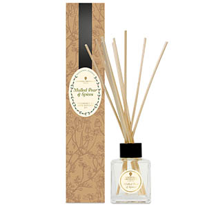 Reed Diffuser Kit - Mulled Pear & Spices.