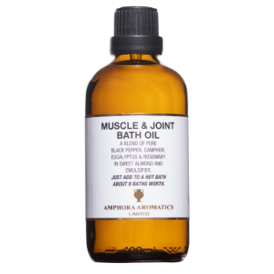 Muscle and Joint Bath Oil 100ml Glass