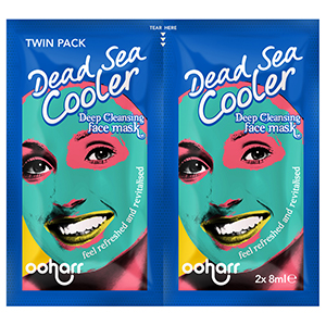 Dead Sea - Cooler Deep Cleansing Face Mask twin Sachet 2 x 8ml