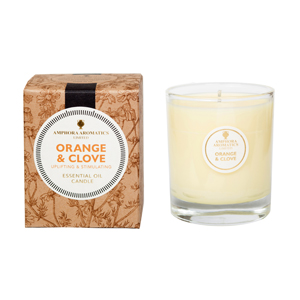 Orange & Clove 40Hr Pot Candle.