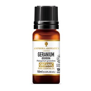 Geranium Bourbon Organic Essential Oil 10ml