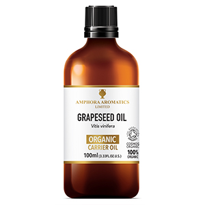 Organic Grapeseed Oil 100ml