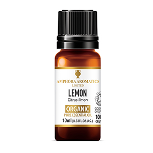Lemon Organic Essential Oil 10ml