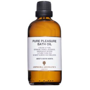 Pure Pleasure Bath Oil 100ml - Glass
