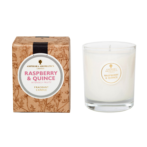 Raspberry & Quince 40hr Pot Candle.