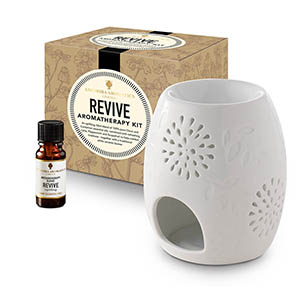 Revive Aromatherapy Kit - with Style 2 traditional burner.