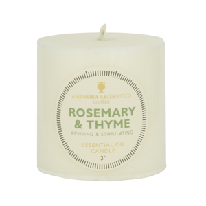 Rosemary & Thyme Candle 3 X 3 (Single)