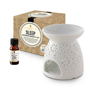 Sleep Aromatherapy Kit - with Style 3 traditional burner.