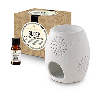 Sleep Aromatherapy Kit - with Style 2 traditional burner.