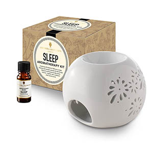 Sleep Aromatherapy Kit - with Style 1 traditional burner.