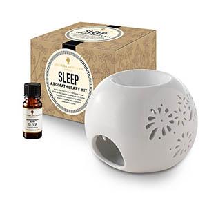 Sleep Aromatherapy Kit - with Style 1 traditional burner.