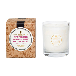 Sparkling Wine & Pink Grapefruit 40hr Pot Candle.