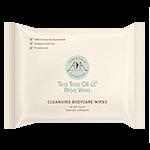 Tea Tree & Aloe Vera Cleansing Body Care Wet Wipes.