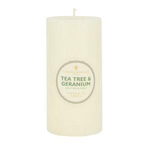 Tea Tree & Geranium Candes 6 x 3 (Single)