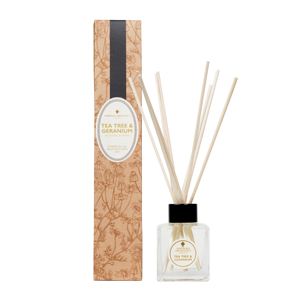 Reed Diffuser Kit - Tea Tree & Geranium.
