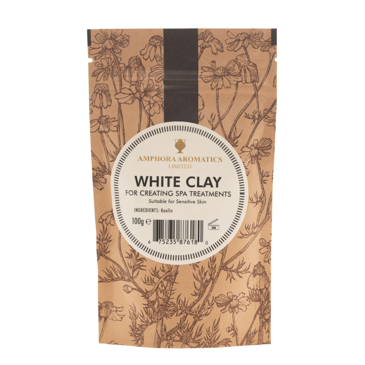 White Clay 100g pouch