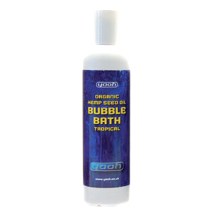 Organic Hemp Seed Bubble Bath (Tropical) 240ml