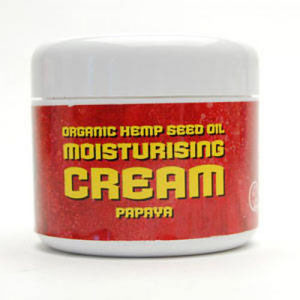 Organic Hemp Seed Moisturising Cream (Papaya) 56g