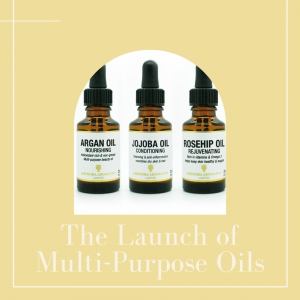 Amphora Aromatics Launches Multi-purpose Beauty Oils.