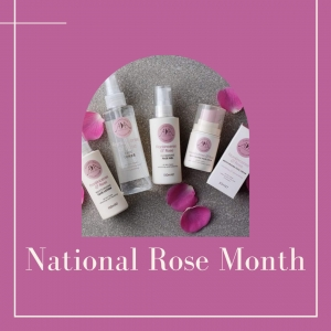 Celebrate National Rose month with our Rejuvenating Rose – Hydrating Face Gel