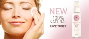 Go 100% Natural with AA Skincare's New Frankincense and Rose Face Toner.