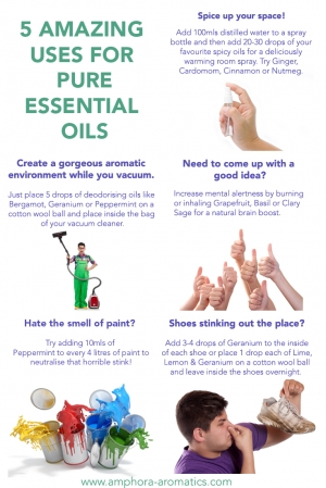 5 Amazing Uses for Essential Oils