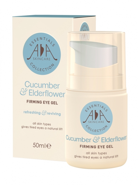 Give skin a natural lift with AA Skincare's new Cucumber & Elderflower Firming Eye Gel.