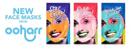 Brand new natural Ooharr clay face masks